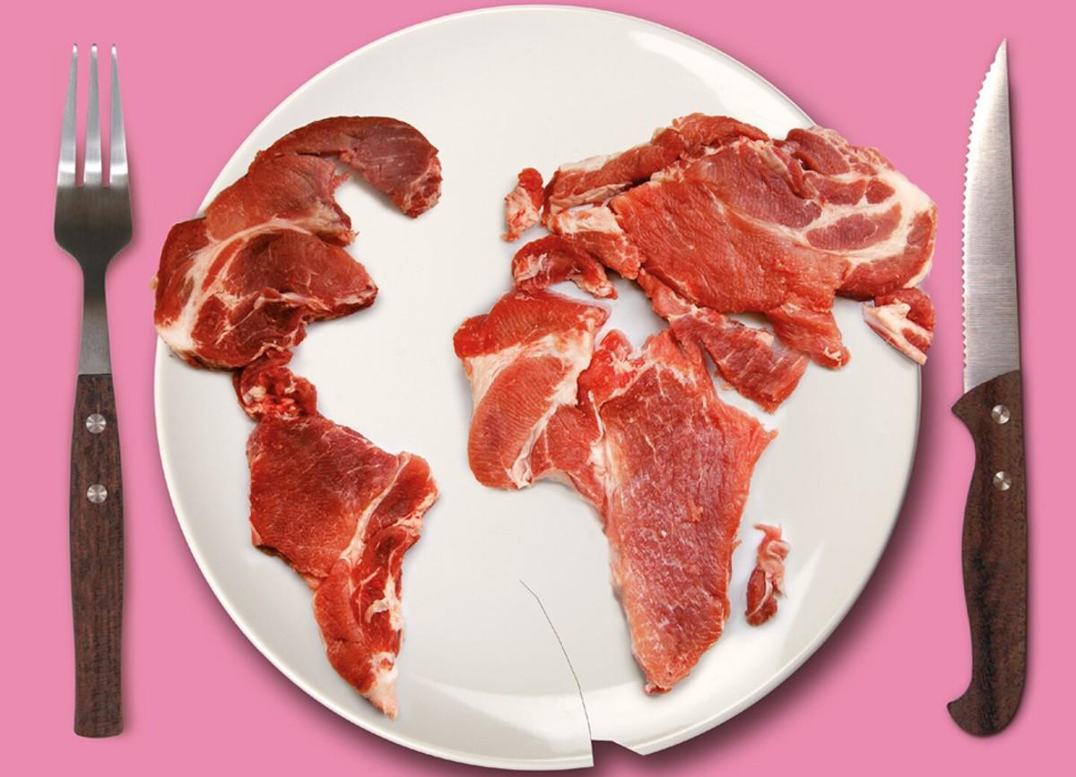 Allevamenti: l'Atlante della carne svela l'impatto sul clima