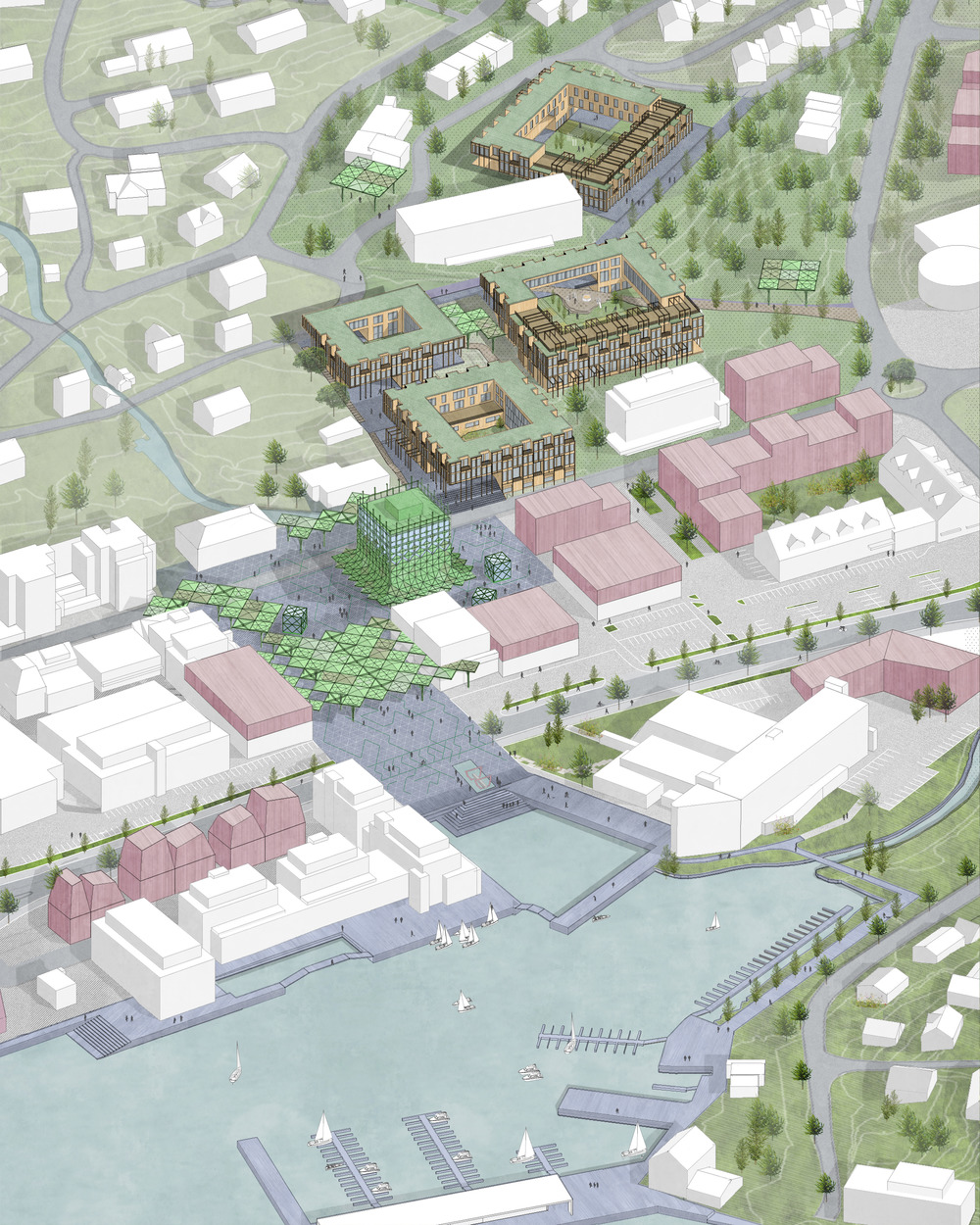 Come trasformare una piccola città in smart city: l'esempio di Ulsteinvik Photo credit: KVANT-1 per gentile concessione di v2com