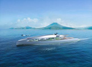 Super yacht a emissioni zero credit 3deluxe