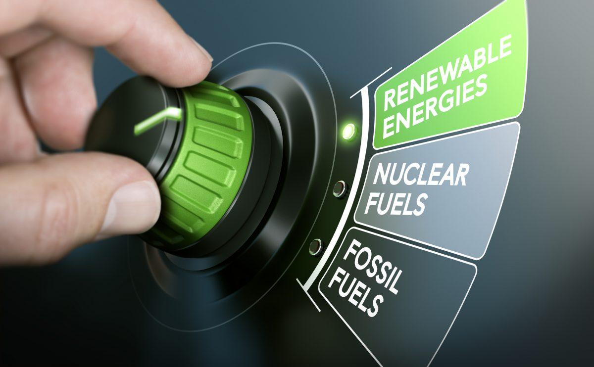 transizione energetica in Italia