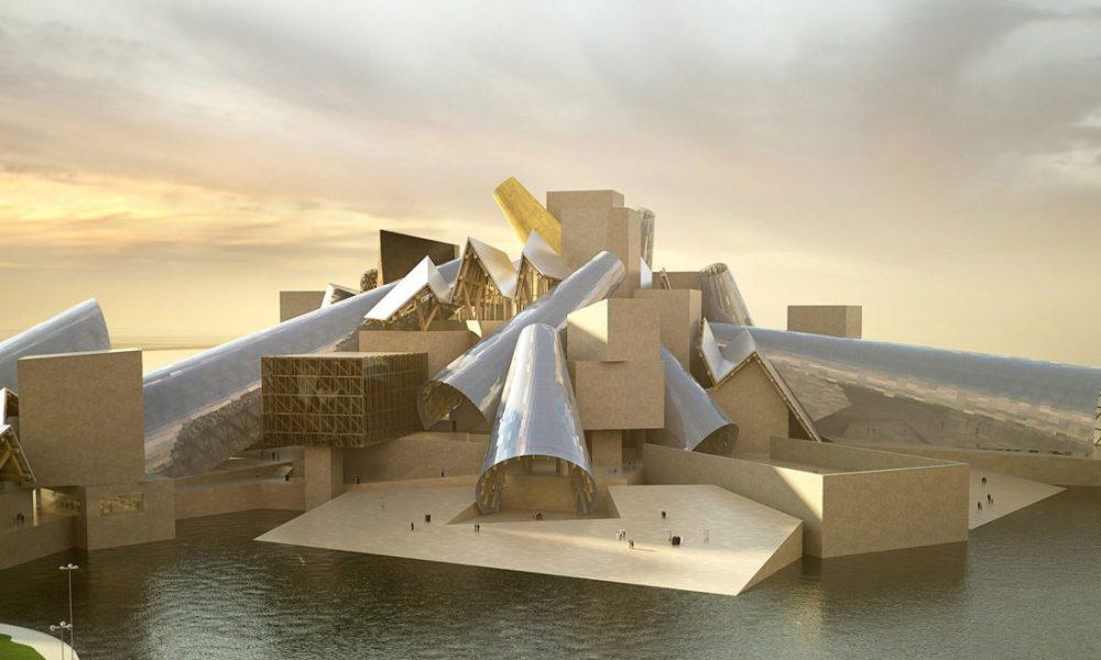 Guggenheim di Gehry per Abu Dhabi - credits Gehery partners