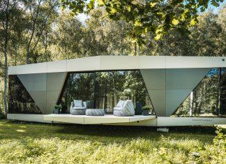 The Space casa prefabbricata off grid