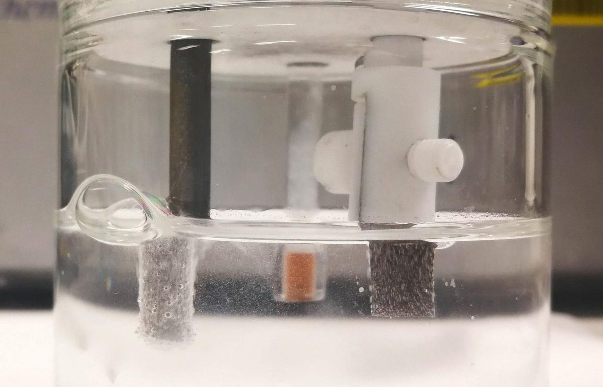 idrogeno dall'acqua marina