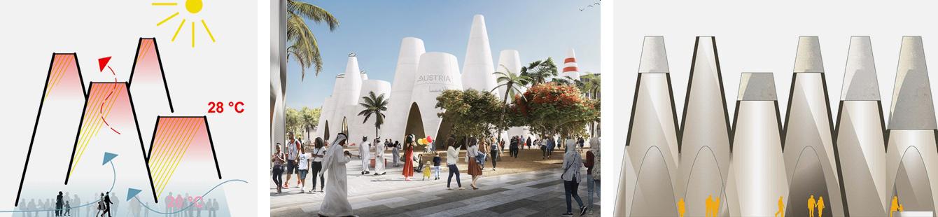 Padiglione dell'Austria Expo 2020 - credits Austria makes sense