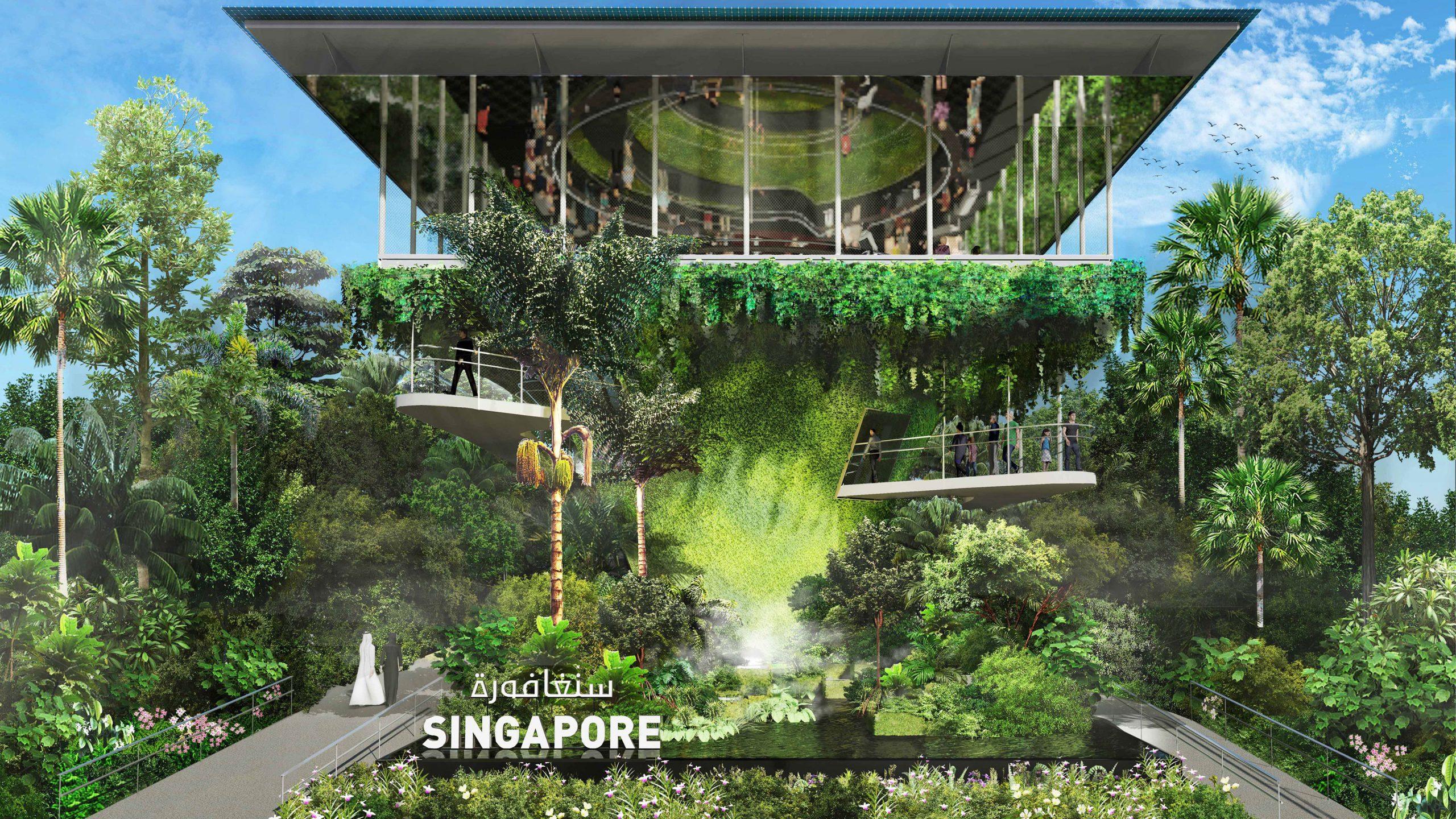 Padiglione di Singapore - credit singapore2020