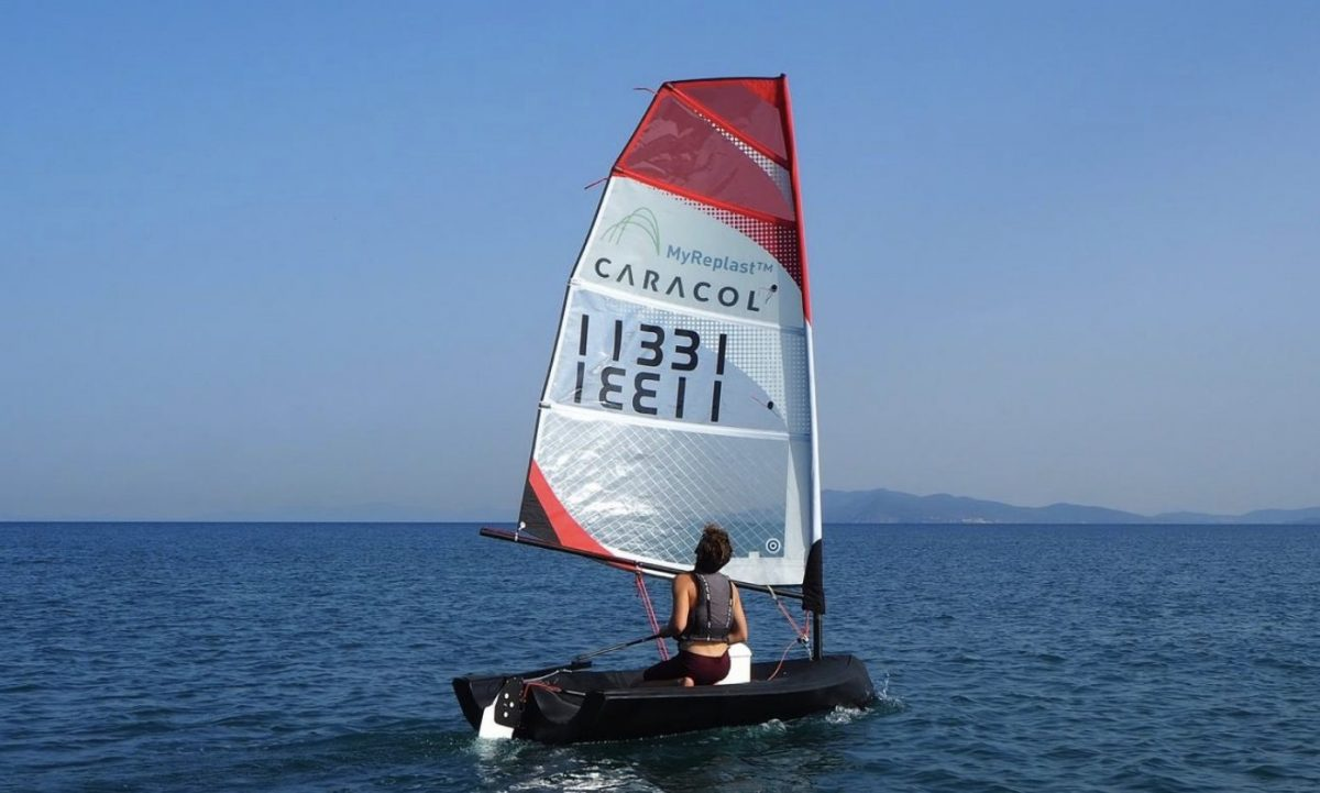 barca a vela stampata