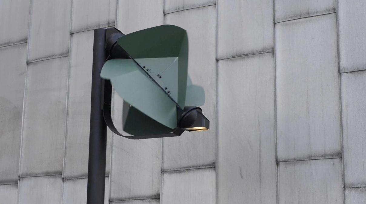 lampione eolico