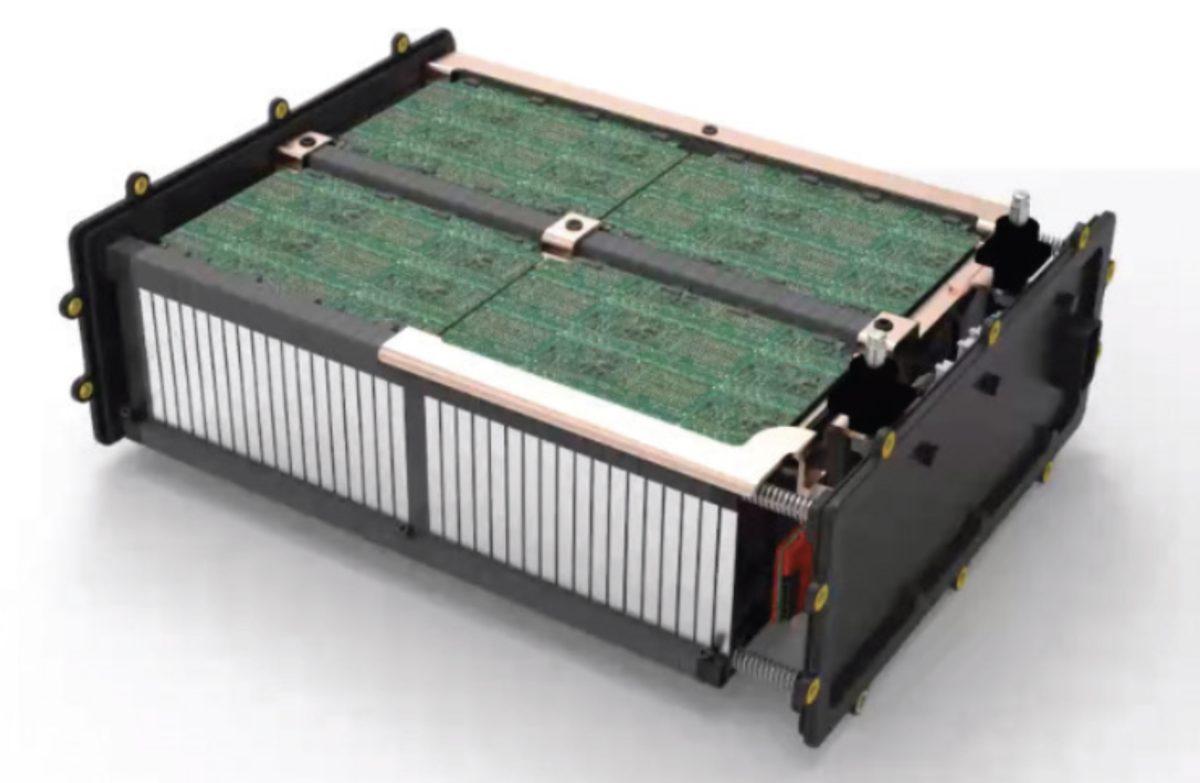 batterie litio-carbonio