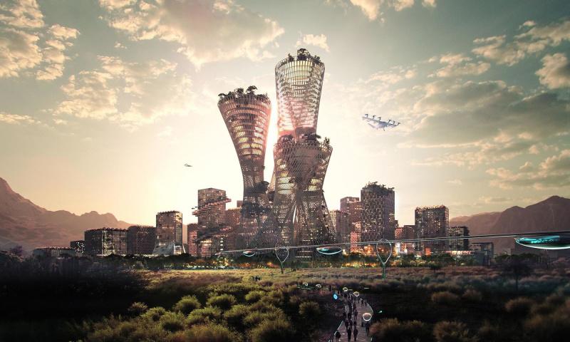 Telosa la città più sostenibile del mondo - credits: BIG
