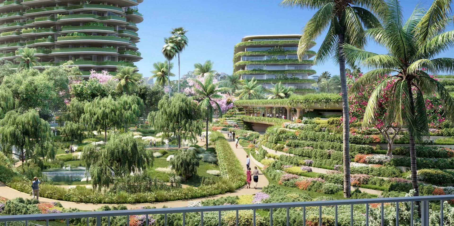 Il One Beverly Hills e i Tre grattacieli ecosostenibili - credits Foster + Partners