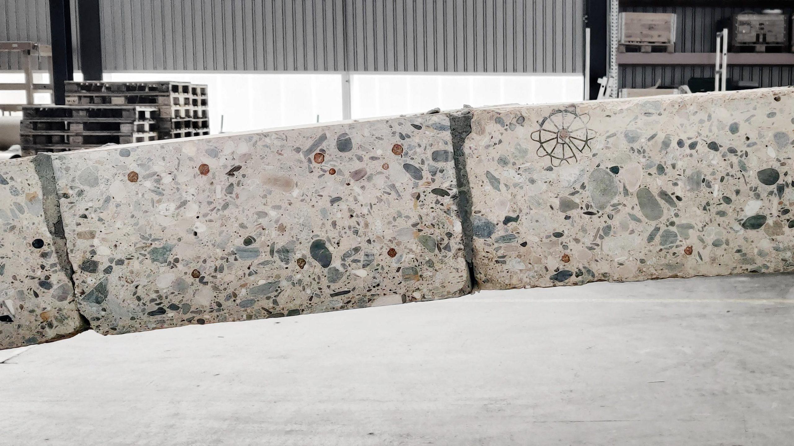 calcestruzzo riciclato