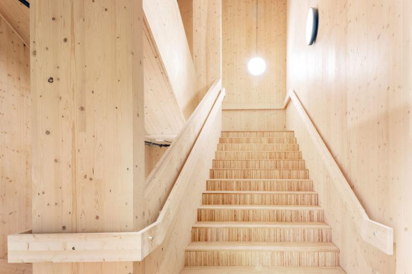 grattacielo in legno