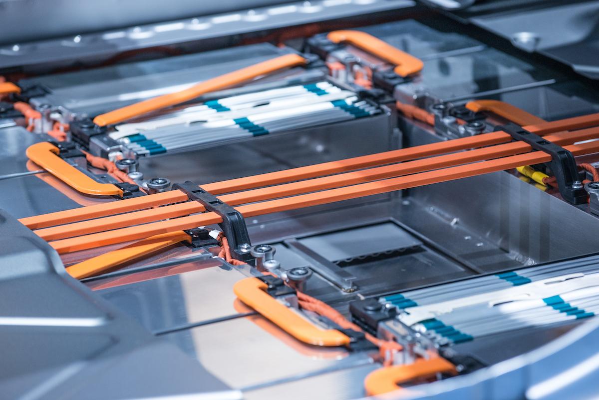 Batterie al litio catena fornitura