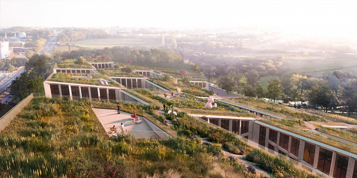Fuse Valley, il villaggio tecnologica green della moda aprirà in Portogallo - credit photo BIG